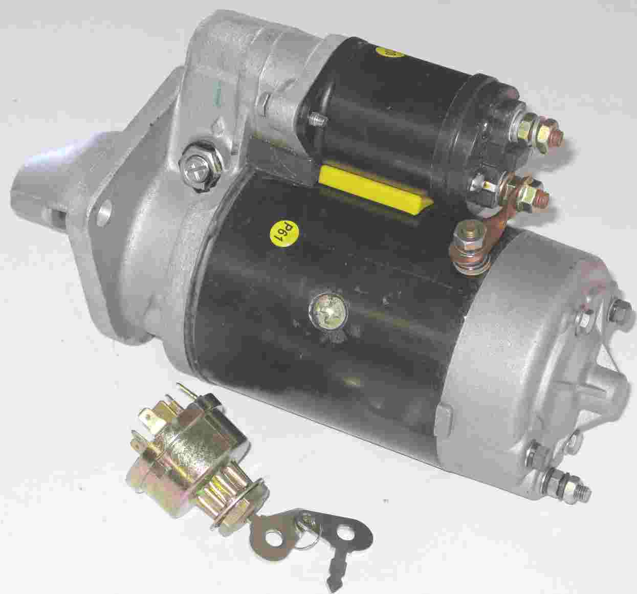 Wiring Diagram For Ford Starter : Wiring diagram for a ford starter relay the