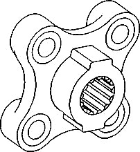 dexta fordson major diesel tractors Six Pin Wiring Diagram da291061 13 spline hub will fit pulley ds44982 bolt hole spacing is aprox 1 954 four 7 16 bolt holes mounted in vibration bushings
