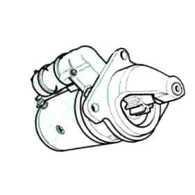 dexta fordson major diesel tractors 12 Volt Horn Wiring Diagram ds60353 new high quality heavy duty lucas replacement starter fits ford diesel tractors 2000 3000 4000 5000 5 dia 12 volt replaces d8nn11000ce